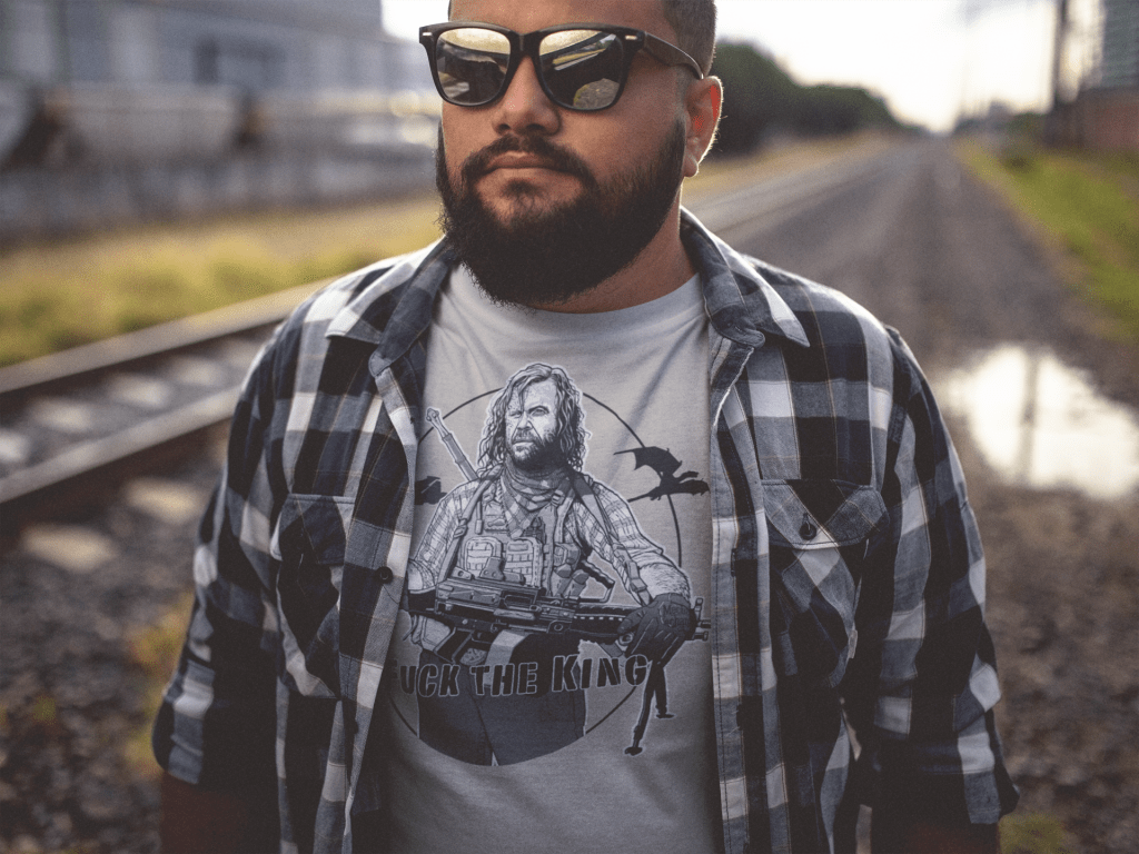 "Tactical Tyrion series ""Clegane the Assaulter"" shirt from MadDuoCo"