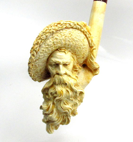 Full Beard Meerschaum Pipe