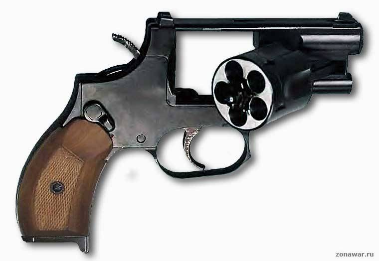 OTs-38 suppressed revolver