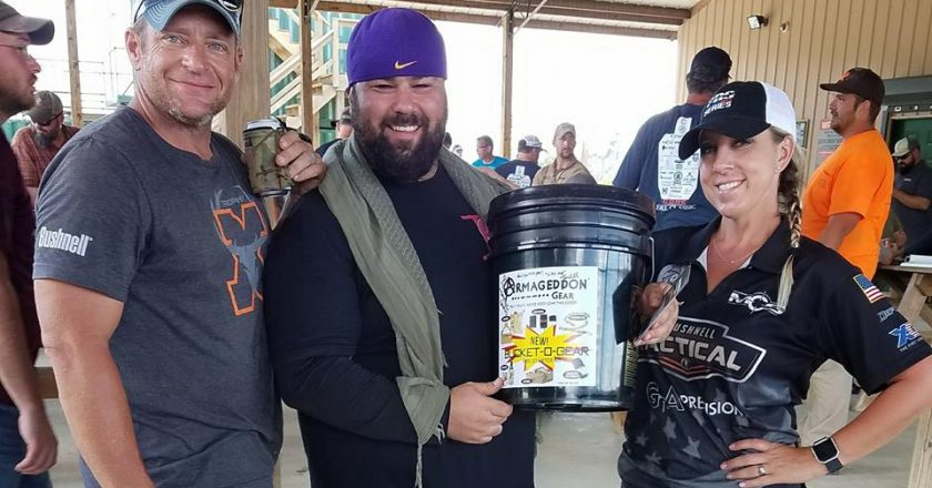 "Armageddon Gear ""Bucket O Gear"" Winner"