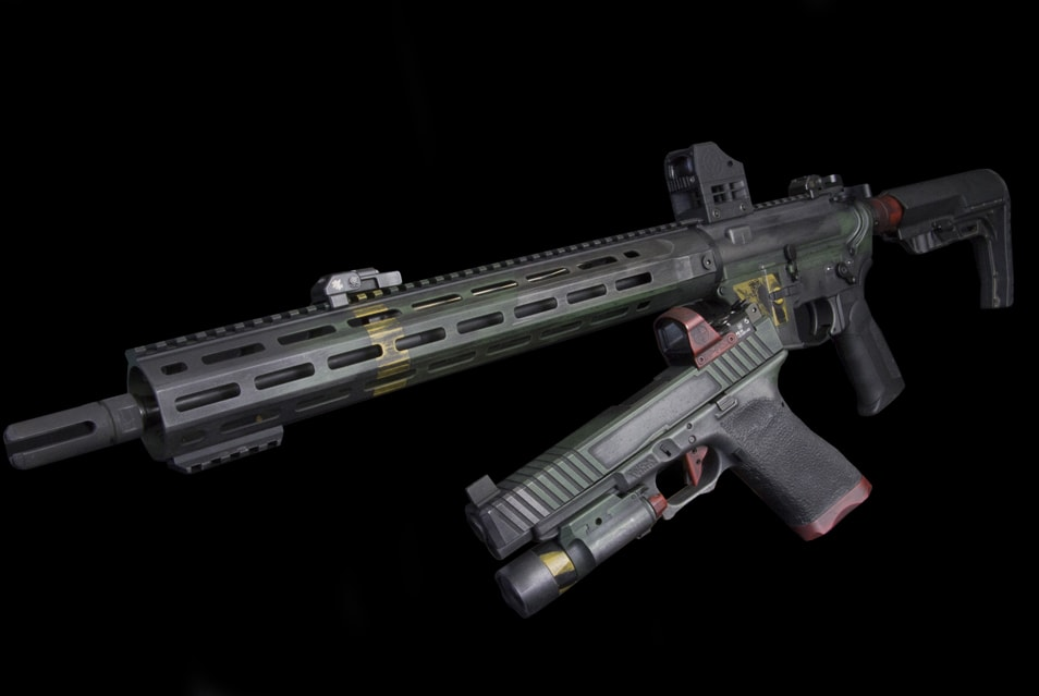 The Doom 3 Gun Collection - an homage to the video game by Sinistral Rifleman