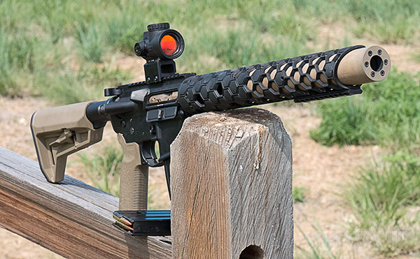 Integrally Suppressed Rifle