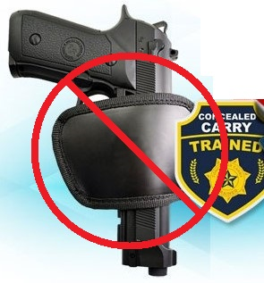 Piece of Shit Holster - No