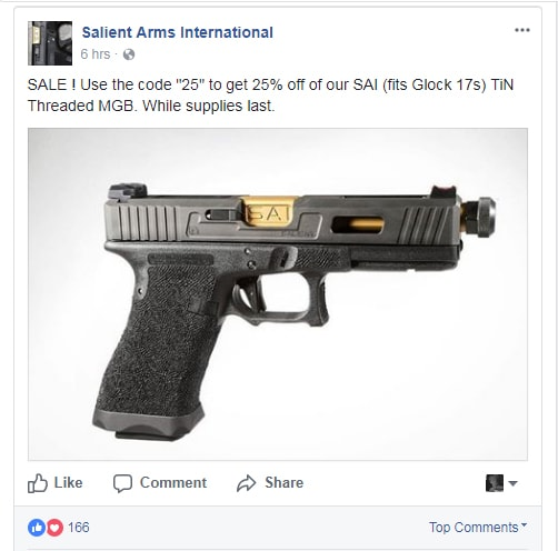 Salient Arms Bankruptcy