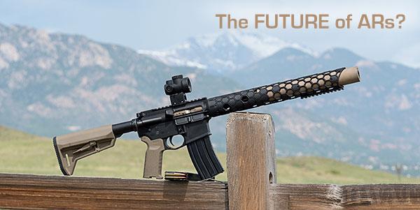 Witt Machine Integrally Suppressed AR15
