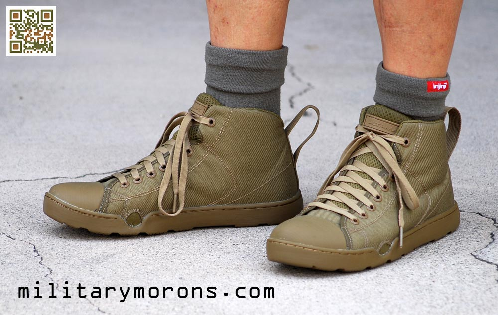 a0b19ccfda41 Low – The OTB Maritime Lows were made by request of an end user that does  dive operations in low running shoes. I had assumed that most would use the  Mids