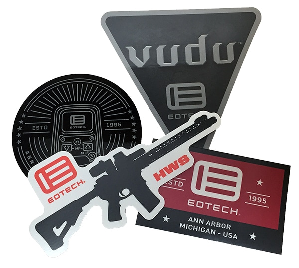 EOTech Free Stickers