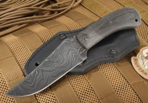 Knife Art Winkler Damascus Belt Knife