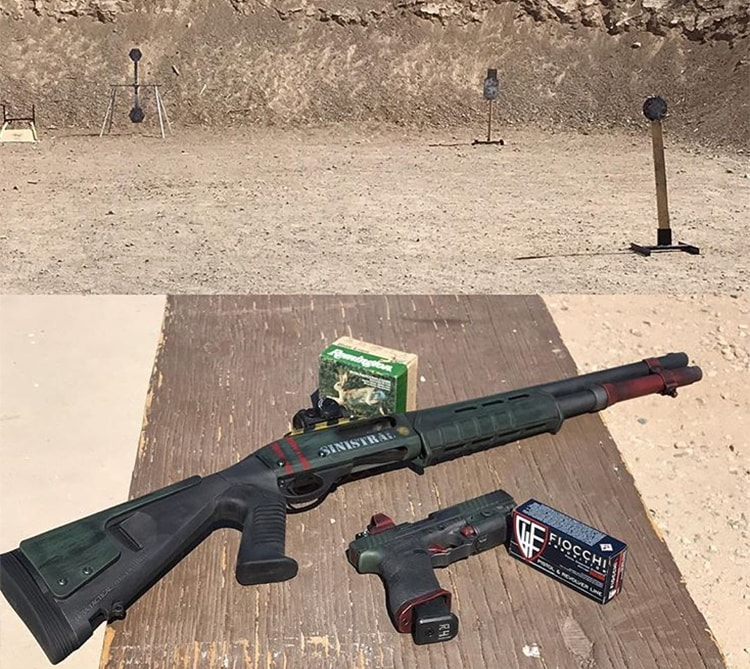 The DOOM Collection from 3-Gun competitor Russell Phagan, AKA Sinistral Rifleman