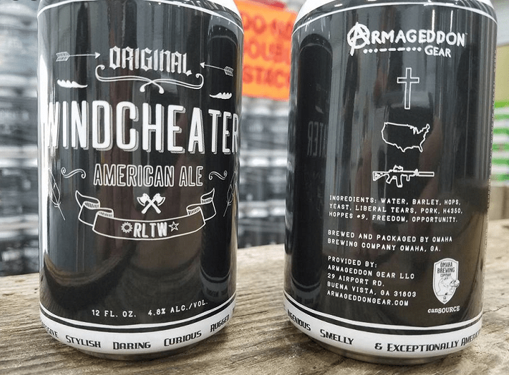 Windcheater Beer from Armageddon Gear