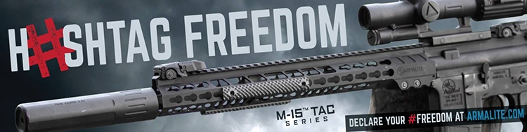 Hasthtag freedom - Armalite, a division of Strategic Armory Corps