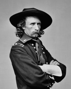 Image of General Custer in uniform.