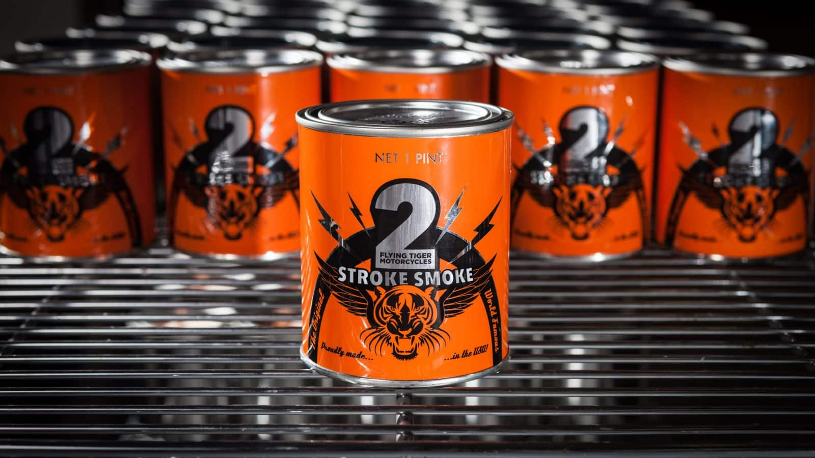 2 Stroke Scented Candle