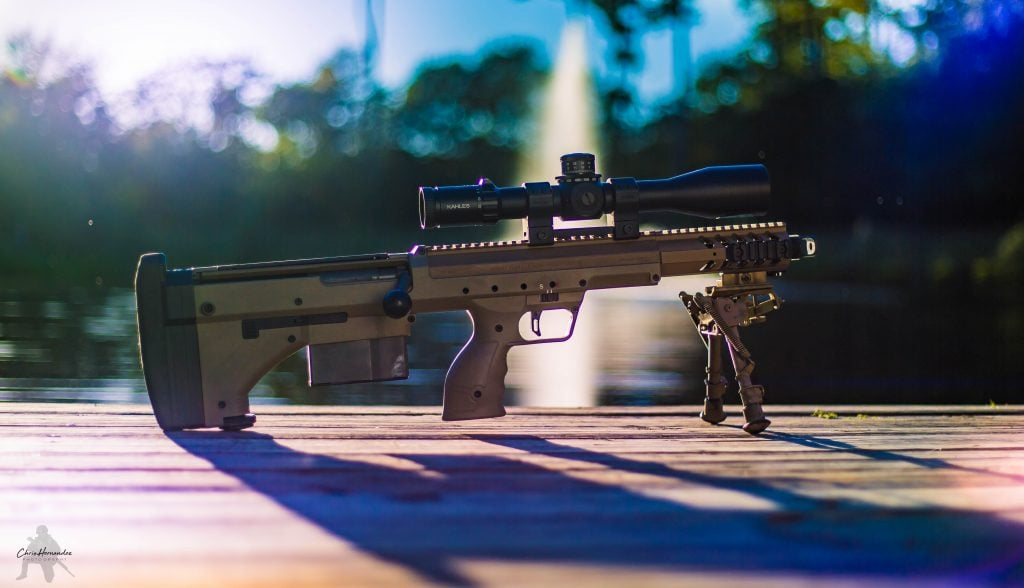 Breach Bang Clear Gun News and Gun Reviews - Bullpup Goodness, the Desert Tech SRS-A1 Covert Precision Rifle