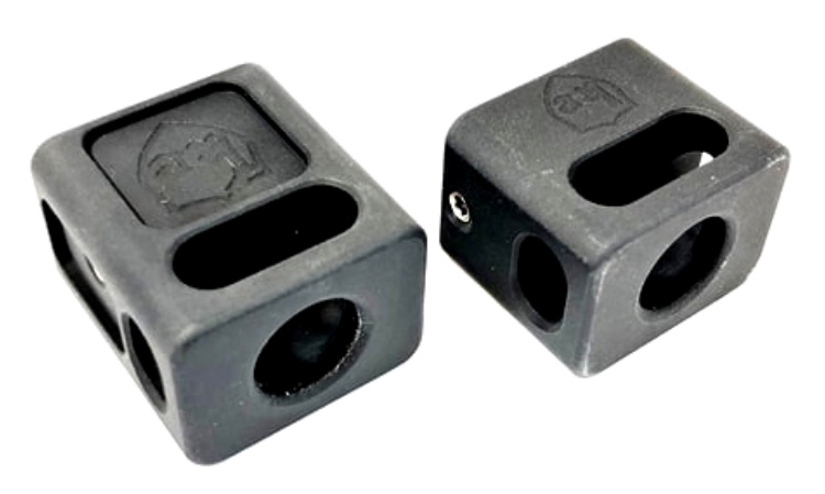 The single top port Carry compensators are also available in short and long thread lengths.