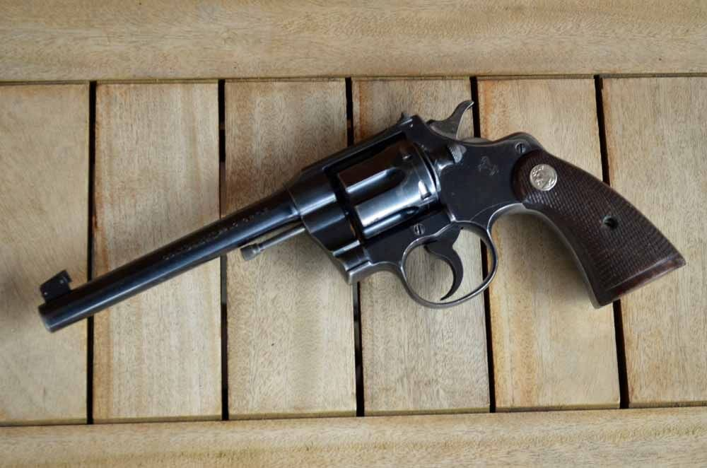 Colt, Colt revolver, revolver, revolvers, guns, Colt Officer's Model, WTW, Officer's Model