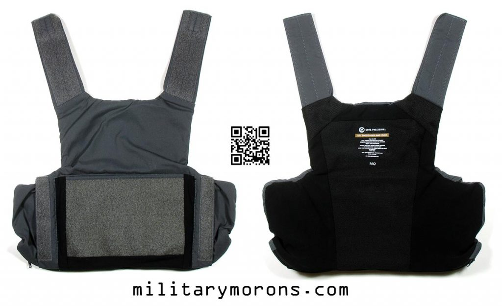 Military Morons on the Crye Precision LVS body armor: a review of the Crye Low Visibility System.