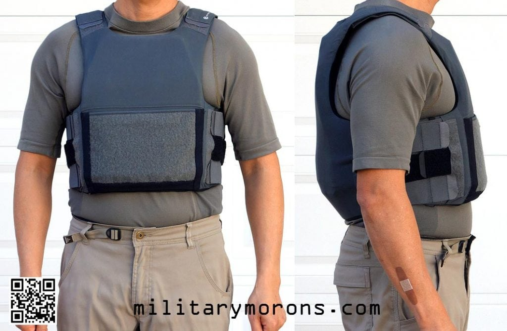 Plate Holder Inside Covert Cover -Military Morons on the Crye Precision LVS body armor: a review of the Crye Low Visibility System.