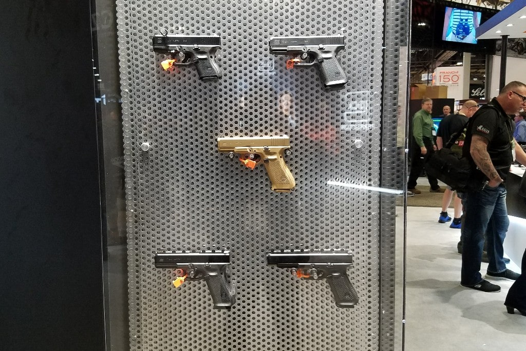 Glocks new pistols - what they're showing off at SHOT Show 2018.