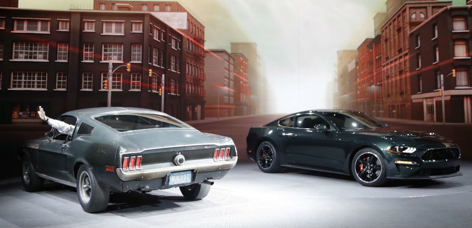 Molly McQueen and Ford have presented the new Ford Mustang Bullitt 50th anniversary edition in honor of Steve McQueen's movie.