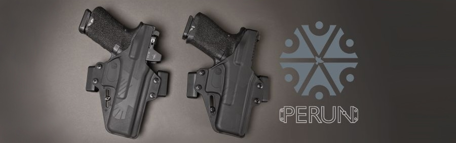 Raven Concealment Systems Perun and Perun LC OWB holsters.