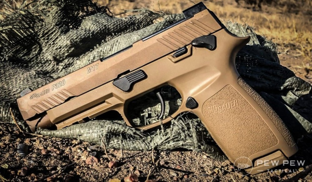 SIG P320-M17 review for Pew Pew Tactical by McKinley Downing