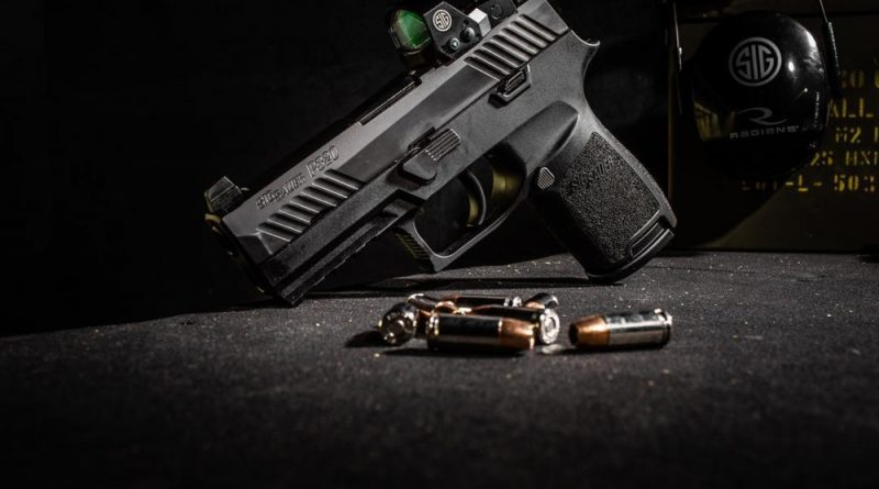 SIG Sauer P320 and SIG Sauer Optics
