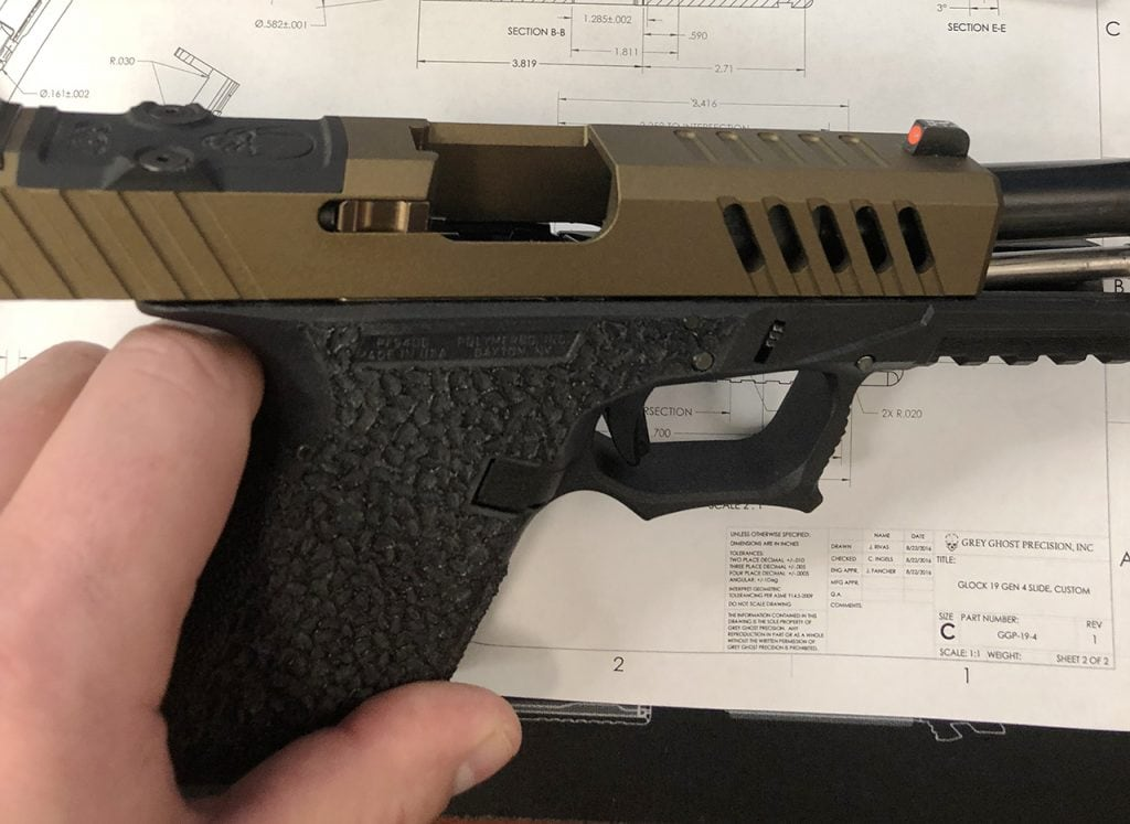 GGP's panty dropping aftermarket Glock 43 slide | Breach Bang Clear