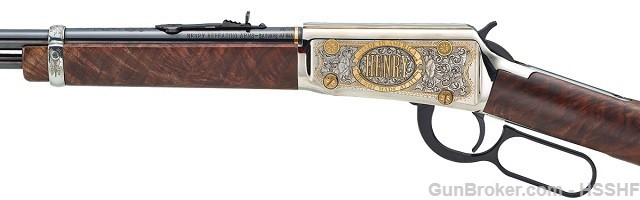 Henry Rifle, SHOT Show, 2018 SHOT Show, NSSF, Henry, repeating rifle, rifle, auction, auction rifle, SHOT Show Auction Rifle, history, American History