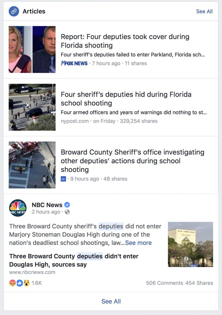 Broward County Sheriff's Office - BSO - after a recent mass shooting at a school.
