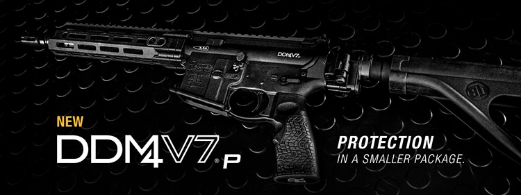 The DD M4v7p is an AR pistol from Daniel Defense