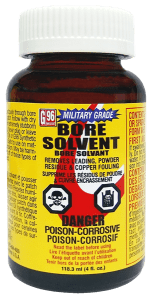 G96 Bore Solvent Gets Military Approval - G96 Rifle Bore Cleaner