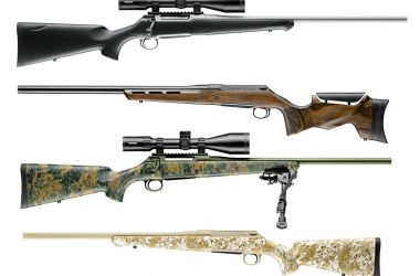 J.P. Sauer & Sohn S100 Series Bolt Action Rifles