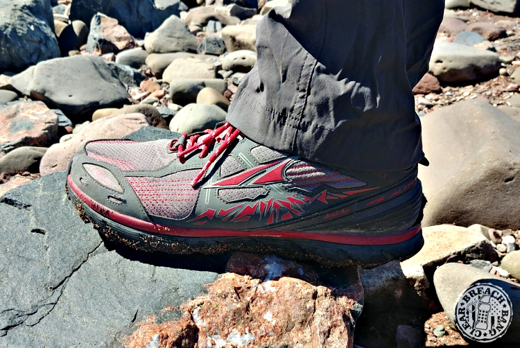 The other thing that sold me on Altra Lone Peak 3.5 Mid Mesh shoe was the zero drop angle of the shoe.