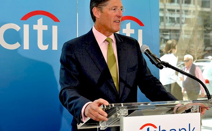 Citibank CEO Mike Cabot