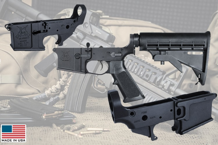 Build It In Billet | KE Arms Billet Receivers Back In Stock