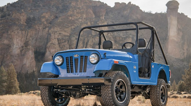 The Mahindra offroad ROXOR modern CJ3 reincarnation.