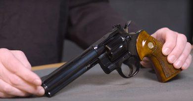 Colt Python Revolver History
