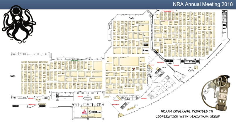 NRAAM 2018 Interactive Map