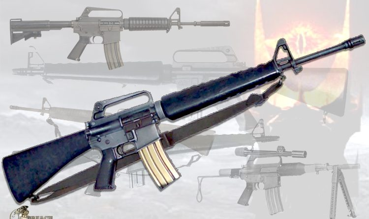 AR-15 Military Style Weapon of War Assault Rifle