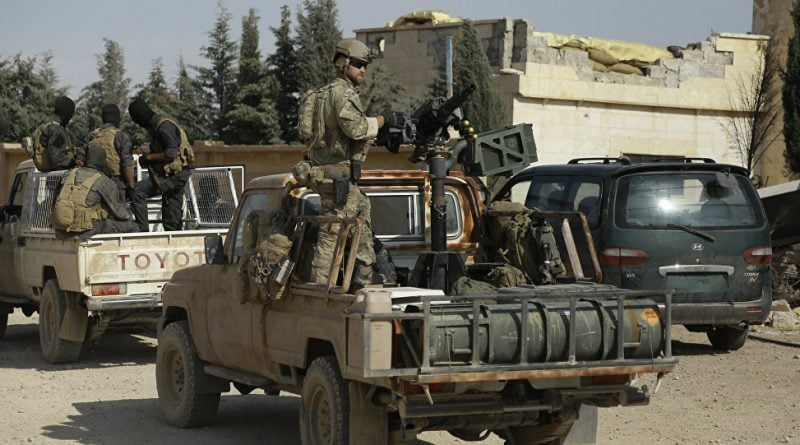 USSOCOM special forces using technicals in Syria