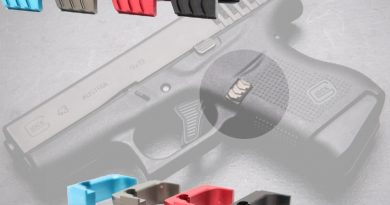 The Tyrant Designs CNC G43ERM Extended Mag Release.