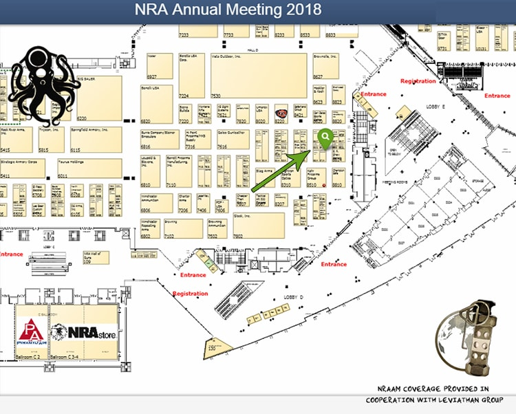NRAAM 2018 DoubleStar booth