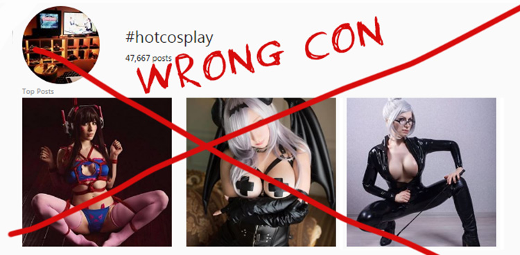 TRIGGRCON - there won't be cosplayers (probably)