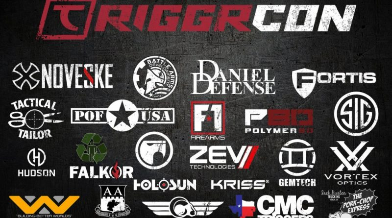 TriggrCon is the Tactical Research Innovation Guns Gear Review convention