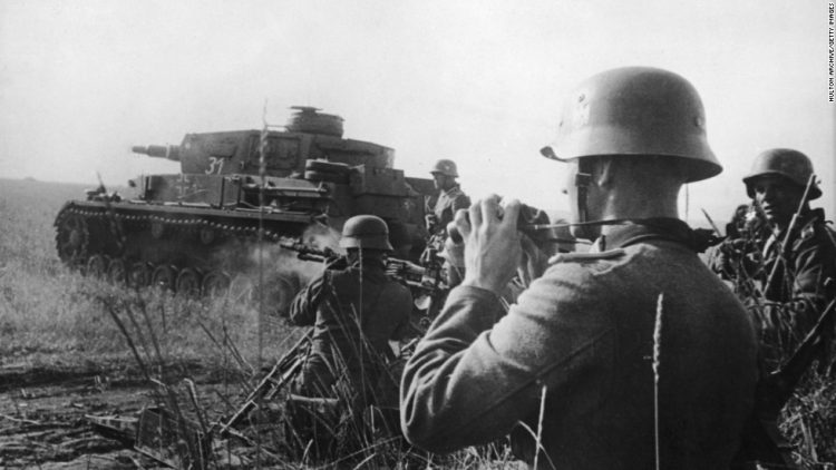 Germans Attack on 22 June 1941 Operation Barbarossa; The song is based on the experiences of Aleksandr Solzhenitsyn.