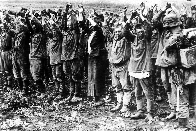 kesselschlacht - it was the fate of many Germans retreating from Russia in WWII.