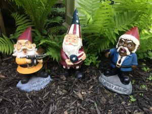 Image of garden gnomes father's day gift idea