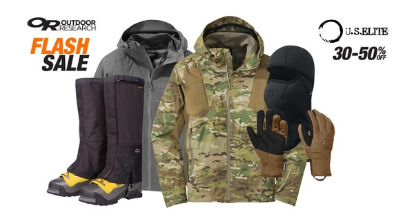 Outdoor Research on sale at US Elite Gear.