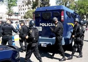 Image of Police Officers in Mexico